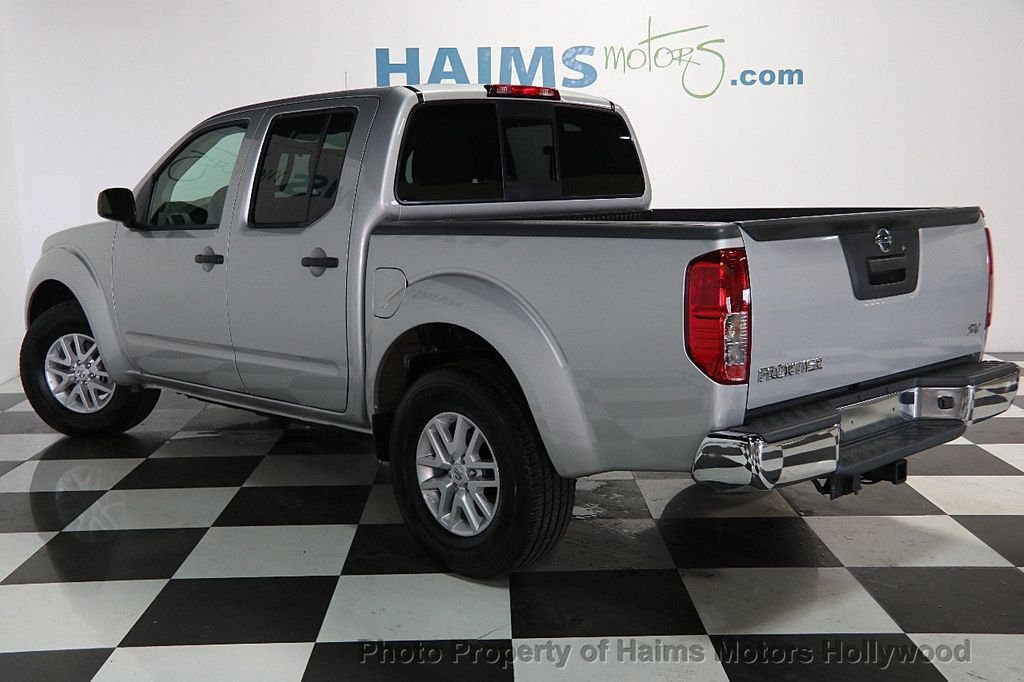 2017 used nissan frontier crew cab 4x2 sv v6 automatic at haims motors serving fort lauderdale. Black Bedroom Furniture Sets. Home Design Ideas