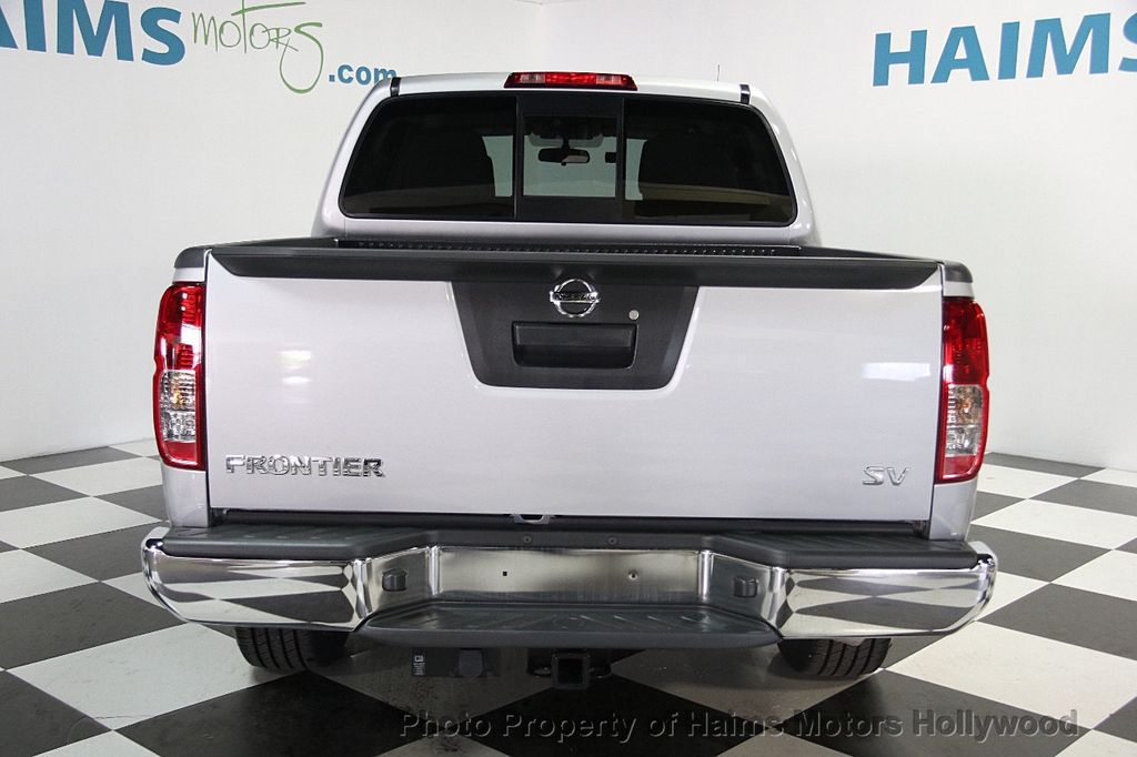 2017 Used Nissan Frontier Crew Cab 4x2 Sv V6 Automatic At