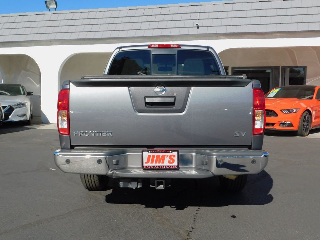 2017 Nissan Frontier Crew Cab 4x2 SV V6 Automatic - 18383092 - 4