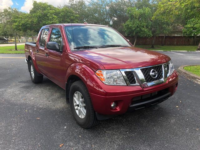2017 Nissan Frontier Crew Cab 4x2 SV V6 Automatic - Click to see full-size photo viewer