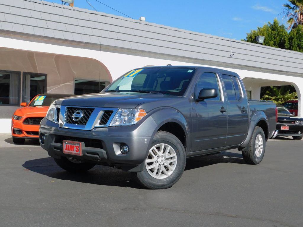 2017 used nissan frontier nissan frontier crew cab sv backup