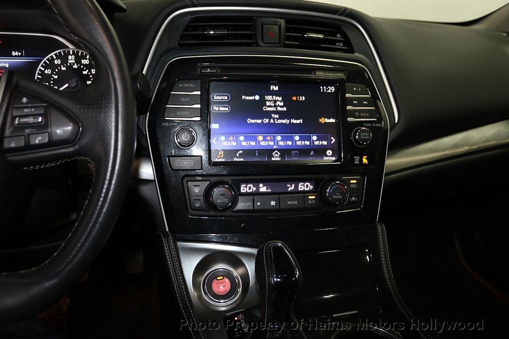 2017 Nissan Maxima SL 3.5L - 18626176 - 19