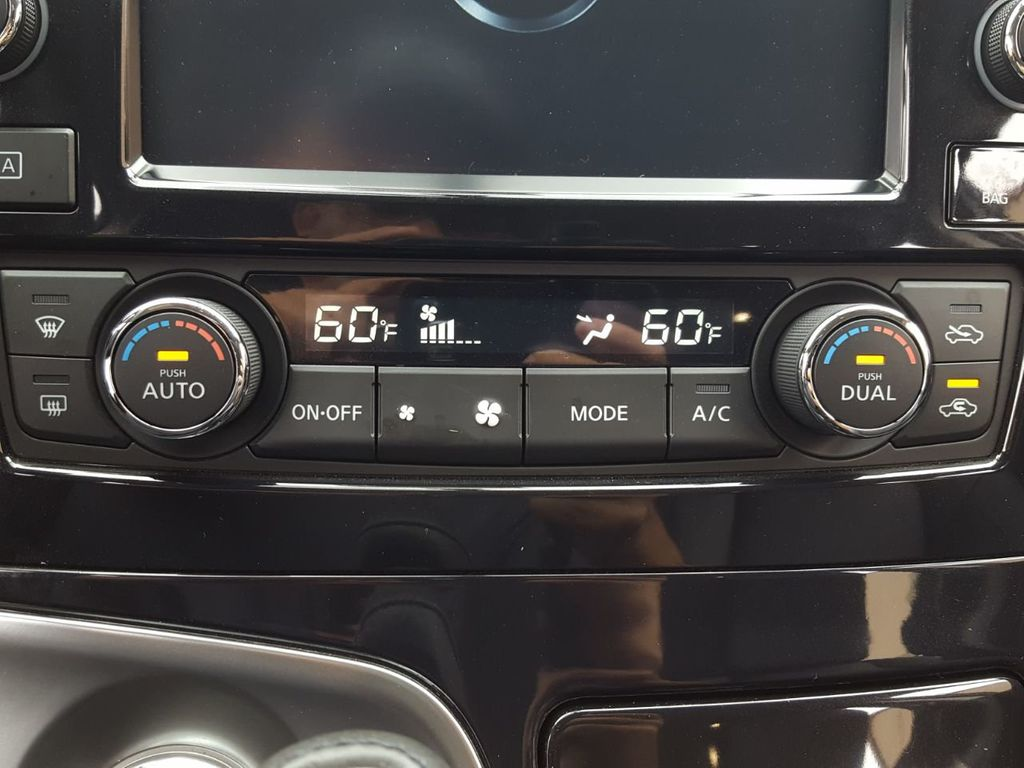 Nissan Maxima: Heater and air conditioner (automatic) (Type A)