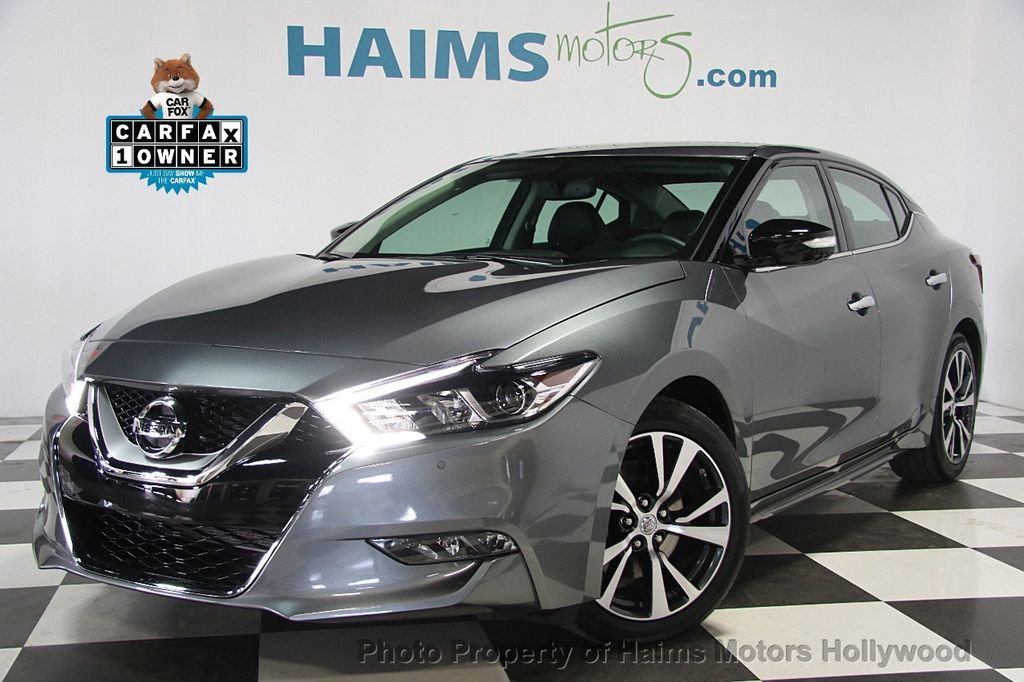 2017 used nissan maxima sv 3 5l at haims motors serving fort lauderdale hollywood miami fl. Black Bedroom Furniture Sets. Home Design Ideas