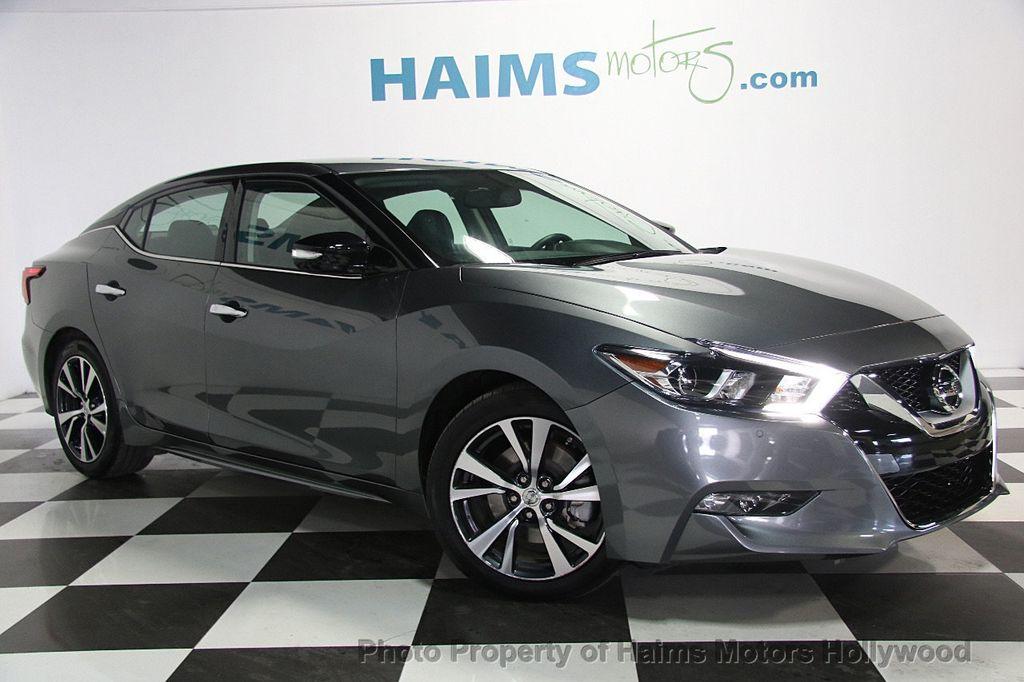 2017 Used Nissan Maxima Sv 3 5l At Haims Motors Hollywood