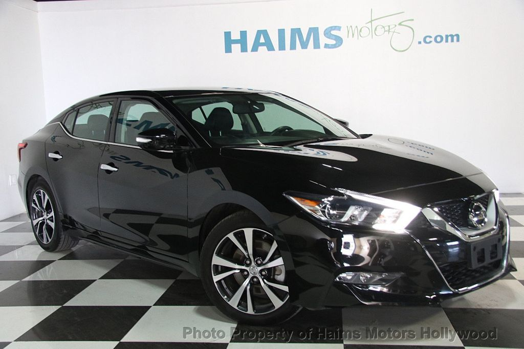 2017 used nissan maxima sv 3 5l at haims motors ft. Black Bedroom Furniture Sets. Home Design Ideas