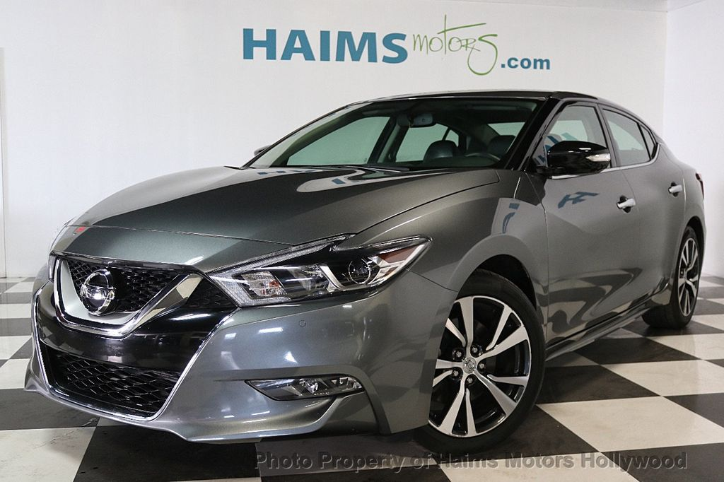 2017 Used Nissan Maxima SV 3.5L at Haims Motors Serving ...