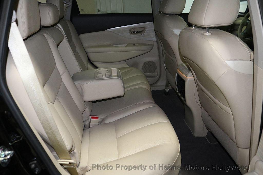 2017 Nissan Murano AWD Platinum - 18183662 - 15