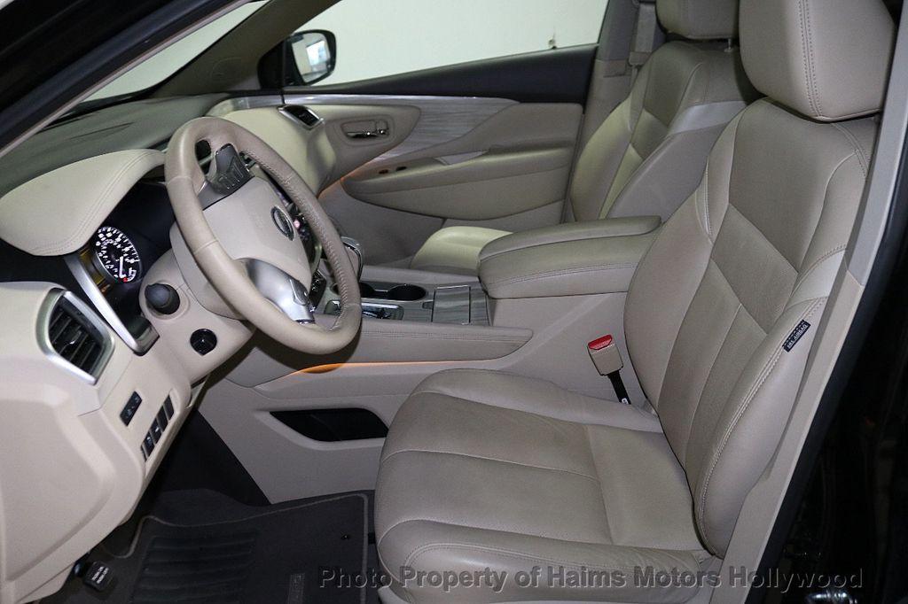 2017 Nissan Murano AWD Platinum - 18183662 - 17