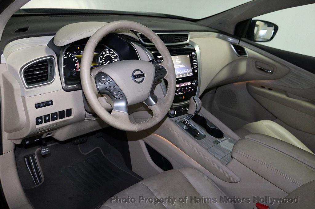 2017 Nissan Murano AWD Platinum - 18183662 - 18