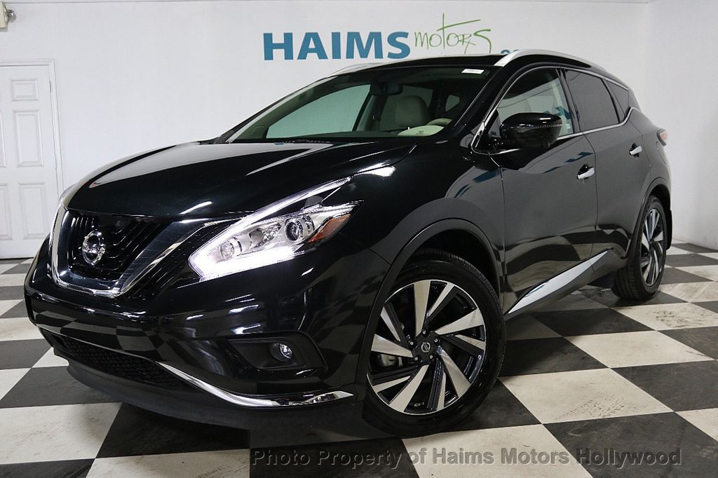 2017 Used Nissan Murano AWD Platinum at Haims Motors ...
