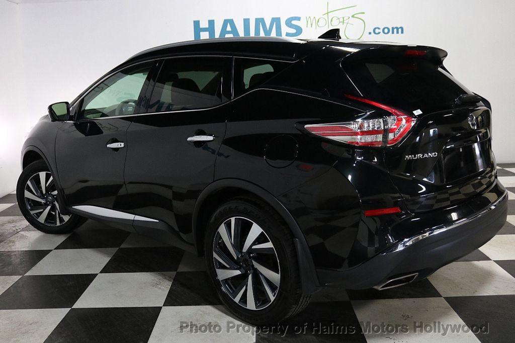 2017 Nissan Murano AWD Platinum - 18183662 - 4