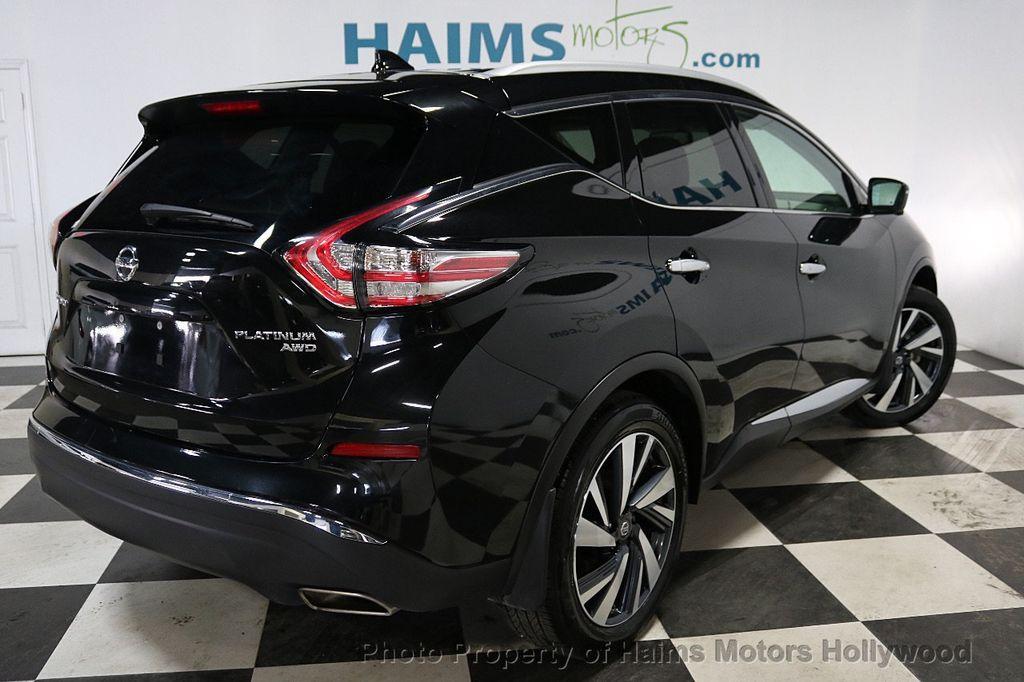2017 Nissan Murano AWD Platinum - 18183662 - 6