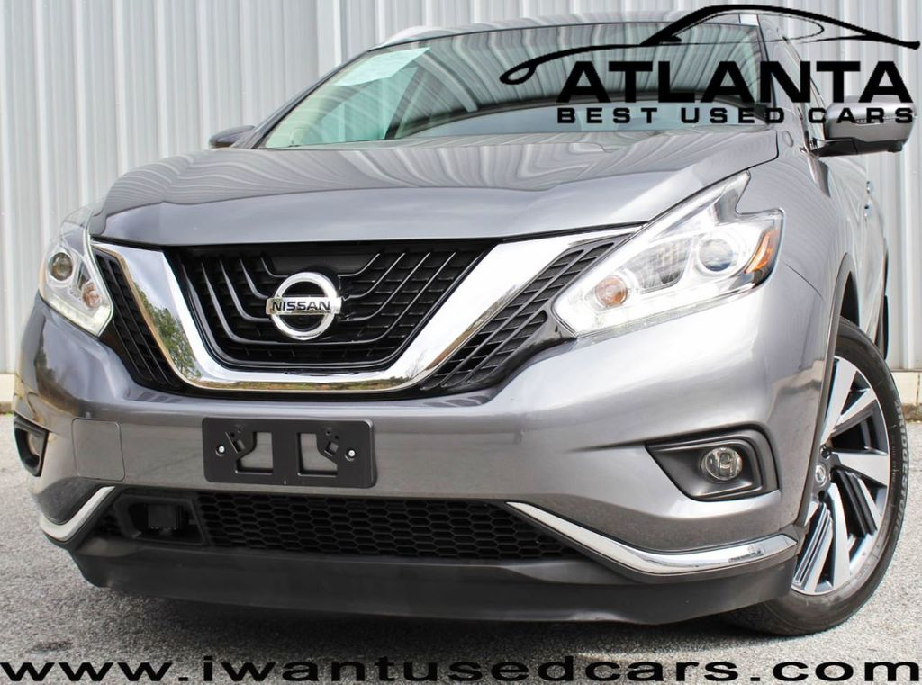 2017 Nissan Murano FWD Platinum with Technology Package - 18711071 - 0
