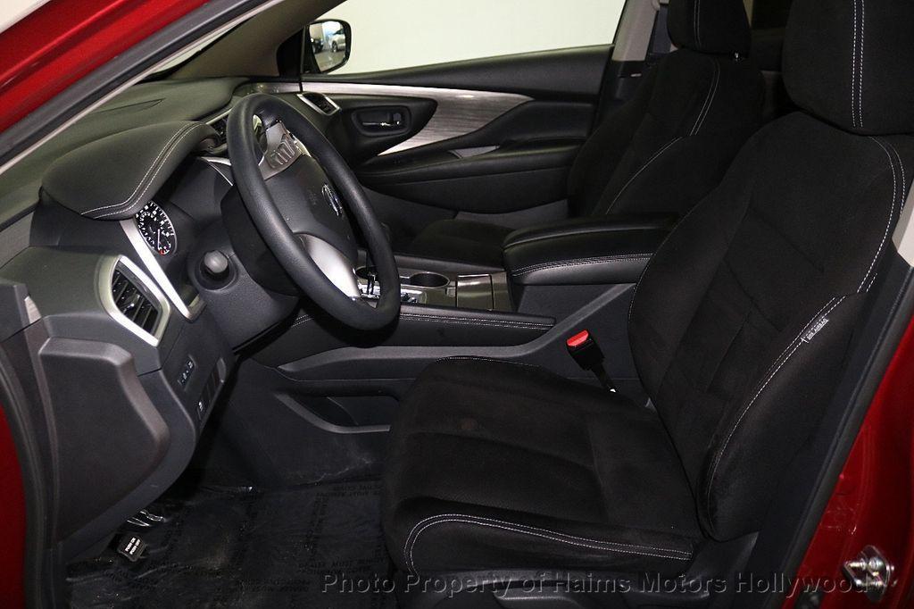 2017 Nissan Murano FWD S - 18501479 - 15