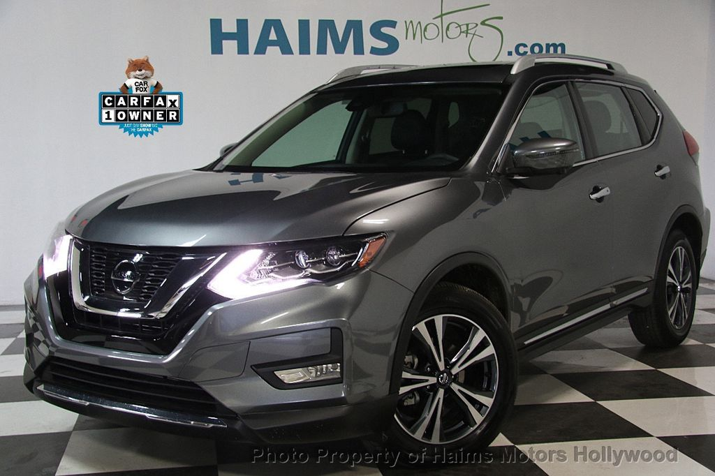 2017 Used Nissan Rogue Awd Sl At Haims Motors Hollywood