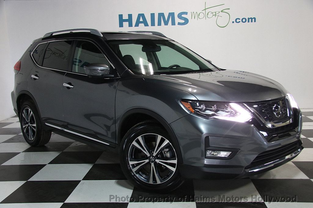 2017 used nissan rogue awd sl at haims motors hollywood serving fort lauderdale hollywood. Black Bedroom Furniture Sets. Home Design Ideas