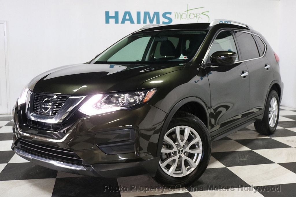 2017 used nissan rogue awd sv at haims motors serving fort lauderdale hollywood miami fl iid. Black Bedroom Furniture Sets. Home Design Ideas