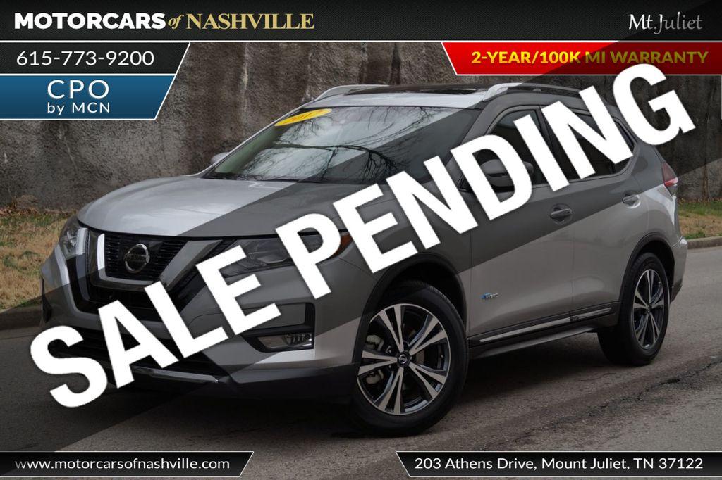 2017 Nissan Rogue FWD SL Hybrid - 18415356 - 0