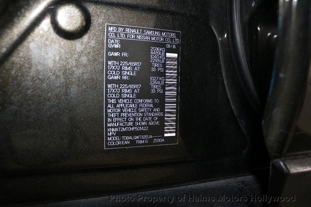 2017 Nissan Rogue FWD SV - 18196926 - 33