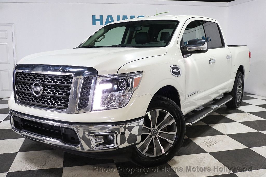 2017 Used Nissan Titan 4x2 Crew Cab SL at Haims Motors ...