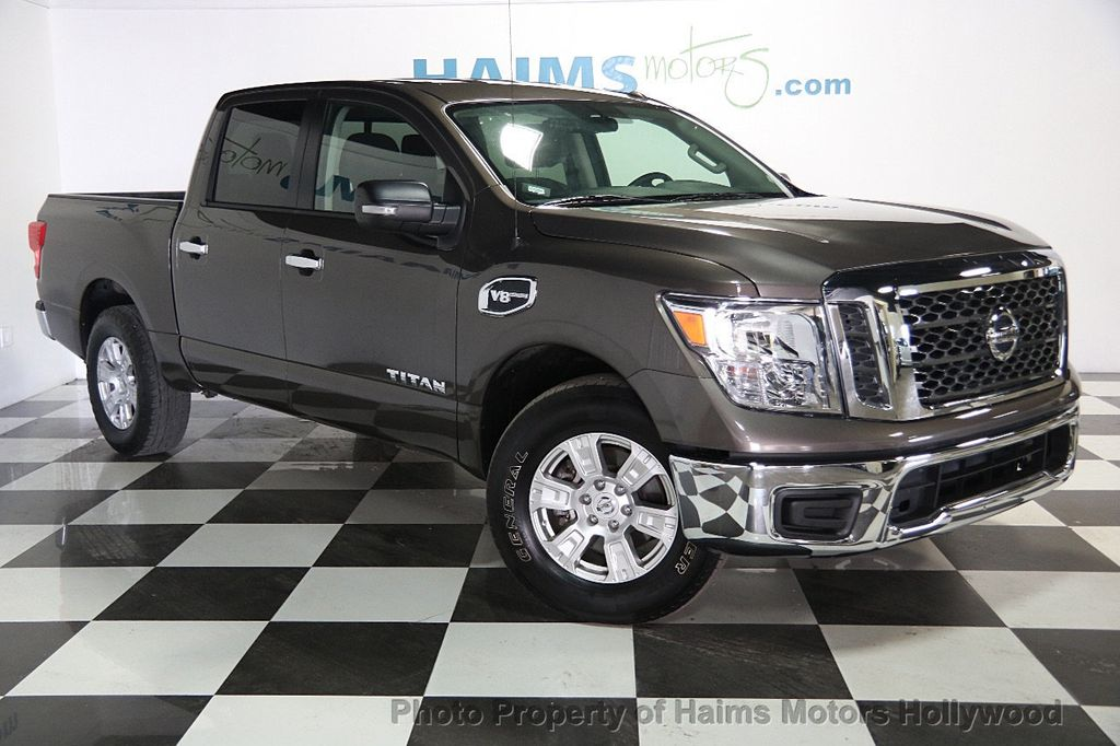 2017 Used Nissan Titan 4x2 Crew Cab SV at Haims Motors ...