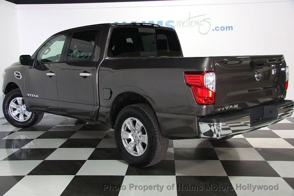 2017 used nissan titan 4x2 crew cab sv at haims motors. Black Bedroom Furniture Sets. Home Design Ideas