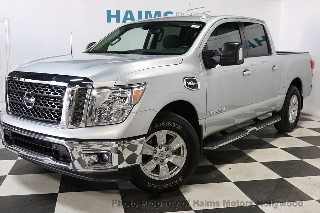 2017 used nissan titan 4x2 crew cab sv at haims motors serving fort