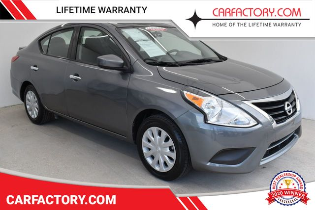 Used Nissan Versa >> 2017 Used Nissan Versa Sedan 1 6 Sv Sedan 4 Dr At Car Factory Outlet Serving Miami Dade Broward Palm Beach Collier And Monroe County Fl Iid