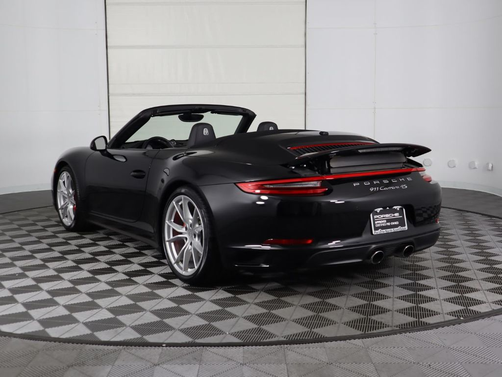 2017 Used Porsche 911 Carrera 4s Cabriolet At Porsche North Scottsdale Serving Phoenix Az Iid 19502707