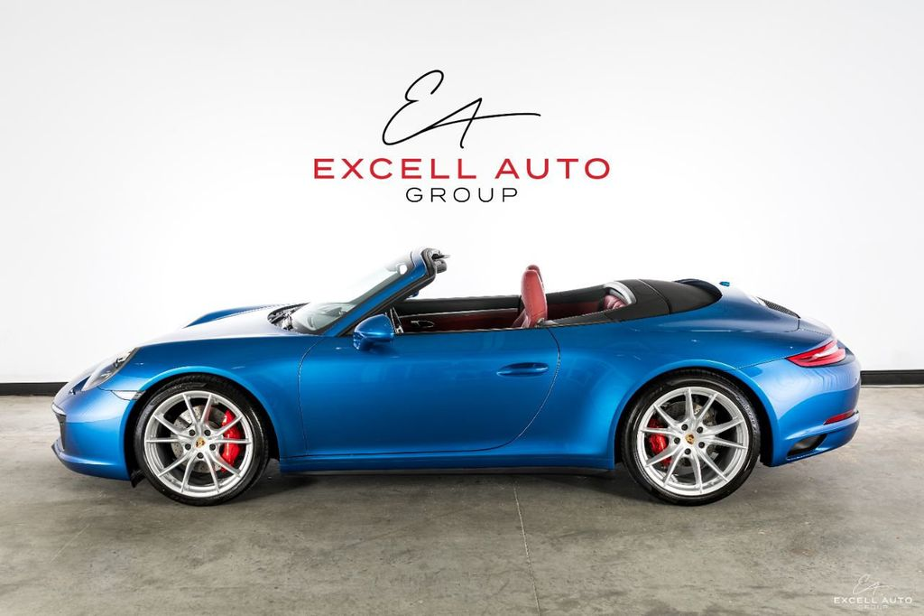 2017 Used Porsche 911 Carrera 4s Cabriolet At Excell Auto Group Serving Boca Raton Fl Iid 19526664