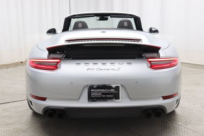 2017 Porsche 911 Carrera S Cabriolet - Click to see full-size photo viewer