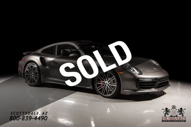 2017 Porsche 911 Turbo Coupe