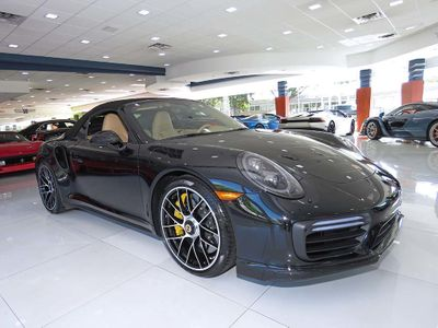2017 Porsche 911 Turbo S Cabriolet - Click to see full-size photo viewer