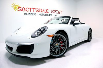 2017 Porsche 911 CARRERA 4S CAB. * ONLY 5K Miles...Active CPO 2022 - Click to see full-size photo viewer