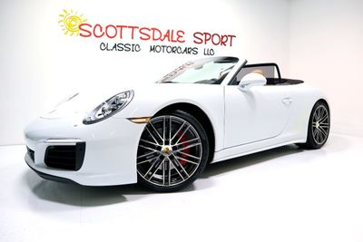 2017 Porsche 911 CARRERA 4S CAB. * ONLY 8K Miles...4S CABRIOLET - Click to see full-size photo viewer