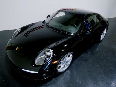 2017 Porsche 911 CARRERA CPE * ONLY 10K Miles...Black/Black - Click to see full-size photo viewer