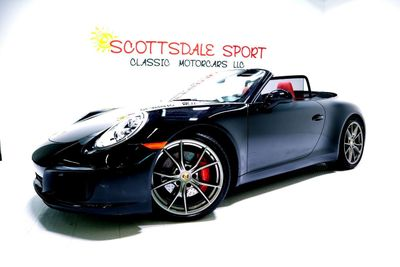 2017 Porsche 911 CARRERA S CAB. * ONLY 5K Miles... Frnt Axle Lift - Click to see full-size photo viewer