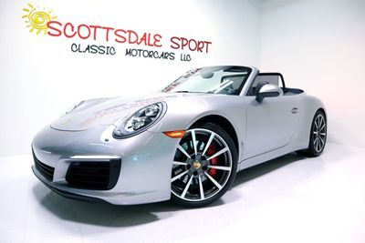 2017 Porsche 911 CARRERA S CAB. * ONLY 6K Miles...Active CPO 2022 - Click to see full-size photo viewer