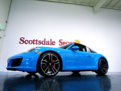 2017 Porsche 911 TARGA 4S * ONLY 15K Miles...Rare Targa 4S - Click to see full-size photo viewer