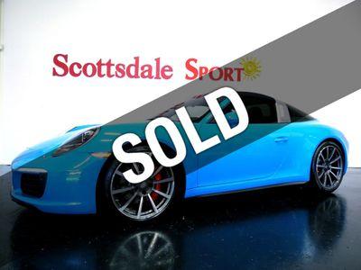 2017 Porsche 911 TARGA 4S * ONLY 8K Miles...Rare Targa 4S