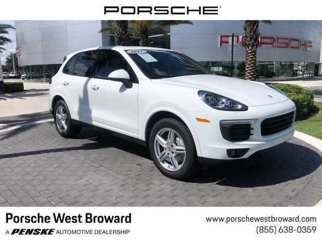 Porsche Cayenne A Vendre >> Used Porsche Cayenne At Porsche West Broward Serving South