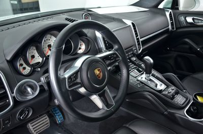 2017 Porsche Cayenne Turbo AWD SUV - Click to see full-size photo viewer