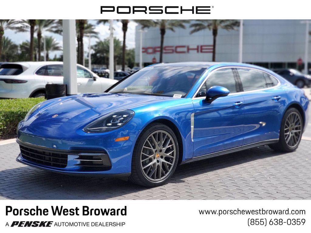2017 Used Porsche Panamera 4s Executive Awd At Porsche West Broward Serving South Florida Hollywood Fort Lauderdale Fl Iid 20095131