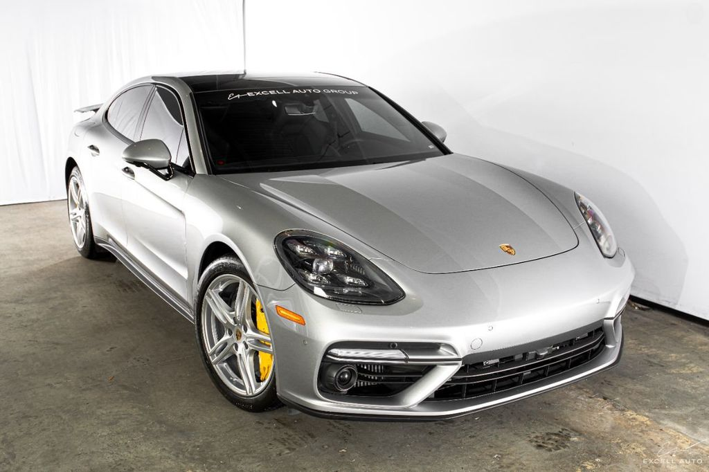 2017 Used Porsche Panamera Turbo Awd At Excell Auto Group Serving Boca Raton Fl Iid 20033658