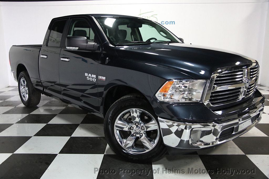 2017 used ram 1500 big horn 4x2 quad cab 6 39 4 box at haims motors serving fort lauderdale. Black Bedroom Furniture Sets. Home Design Ideas