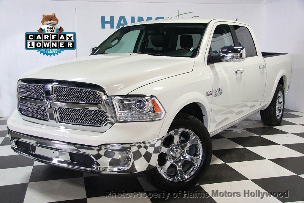 2017 used ram 1500 laramie 4x2 crew cab 6 39 4 box at haims motors serving fort lauderdale. Black Bedroom Furniture Sets. Home Design Ideas