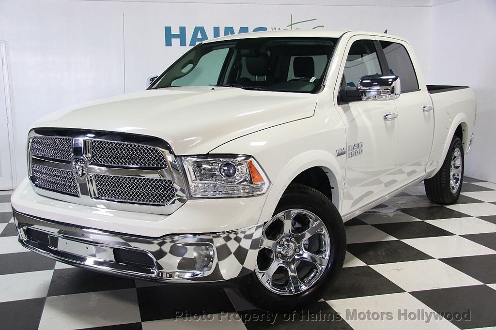 "Dealer In Miami >> 2017 Used Ram 1500 Laramie 4x2 Crew Cab 6'4"" Box at Haims Motors Serving Fort Lauderdale ..."