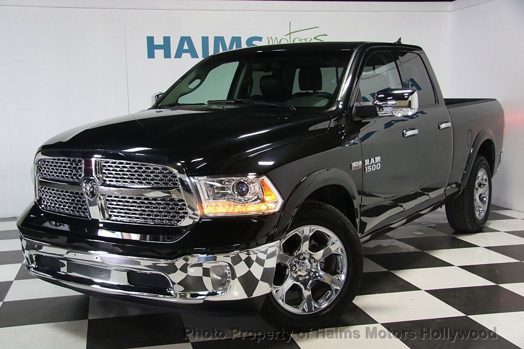 2017 ram 1500 laramie 4x2 quad cab 6 39 4 box truck crew cab standard bed for sale in hollywood. Black Bedroom Furniture Sets. Home Design Ideas