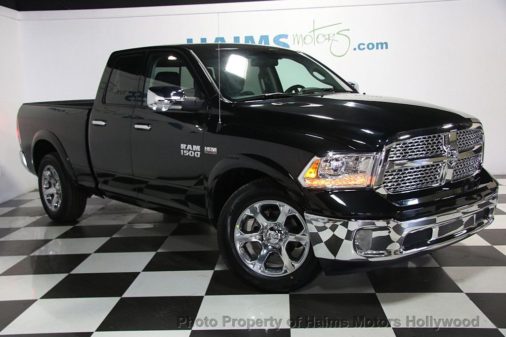 2017 used ram 1500 laramie 4x2 quad cab 6 39 4 box at haims motors serving fort lauderdale. Black Bedroom Furniture Sets. Home Design Ideas